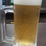 なか卯 - 生ビール