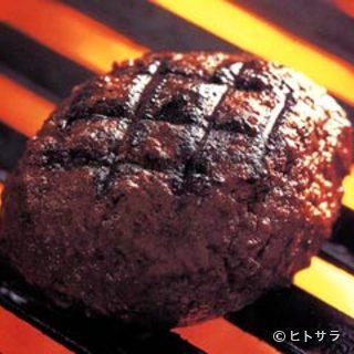 自慢のオリジナルハンバーグステーキ