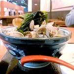 丸亀製麺 - あさり山盛り~(*♥ω♥*)