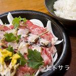 鼓や - 鉄板焼アワビ牛丼(要予約)