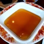 よひら - お決まりの餡掛け豆腐