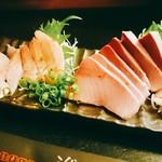 季魚旬酒 なぶら - 金目鯛とぶりのお刺身