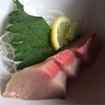 さぬき路 - ハマチ刺身(A定食)