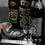 焼肉海鮮 恵美寿 - 越乃寒梅(清酒1合)