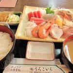 6513737 - 刺身定食・1500円