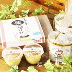 レストランHAMA - 持ち帰りプリン250円、ホッケークッキー500円