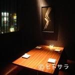 SHIN - カップル完全個室・半個室有。窓から神戸夜街が見えます
