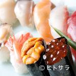 三海の華 - 豪華なネタを使った『三海鮨(10カン)』