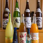 三海の華 - アルコール類の品揃えに自信あり!