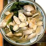 丸亀製麺 - あさりうどん(並)590円