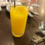 イタリア料理 LEGAMENTO - オレンジジュース【ドリンク】