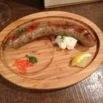 ワインルーム - 熟成ラム肉のソーセージ