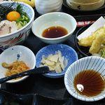 夢庵 - 鯛めし丼膳