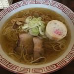 おお田ラーメン店 - 淡口醤油