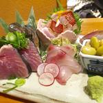 魚 きんめ - 刺し盛り