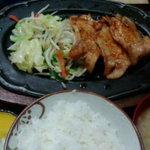 ぴんや食堂 - 料理写真:しょうが焼き定食