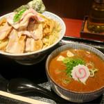 65140903 - 「濃厚チャーシュー盛つけ麺」(1150円)