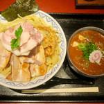 65140914 - 「濃厚チャーシュー盛つけ麺」(1150円)