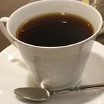 カフェ セジュール - ホットコーヒーのアップ