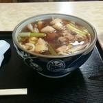 さぬき庵 - 料理写真:ひな鳥うどん 700円