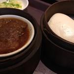 唐朝刀削麺 - 粉蒸肉セット