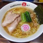 ラーメン人生JET - 煮干し塩ラーメン(780円)