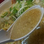ごっつ - スープはこの感じ。