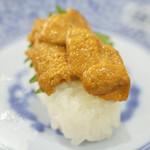 無添くら寿司 - うに(一貫)(100円+税)2017年3月