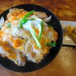 松え食堂 - 料理写真:カツ丼 650円