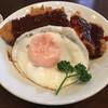 三好弥 - 料理写真:みそカツ丼。ロコモコみたい!
