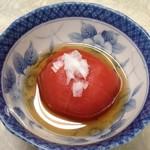 伊勢屋食堂 - トマト酢漬