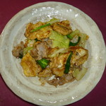 沖縄料理 がちまやー - 麩チャンプルー