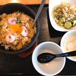 中華食房 天天 - 石焼チャーハンランチ(大盛り)