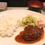 224 COLOURS - 粗挽ハンバーグ定食
