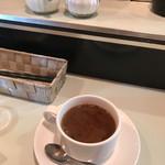 224 COLOURS - ホットコーヒー(ハンバーグ定食)