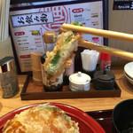 天ぷら海鮮 五福 - シシトウも美味しゅうございますな