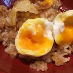 天ぷら海鮮 五福 - 半熟卵、皆さんお好きでしょ(*゚▽゚*)