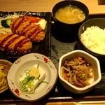 贔屓屋 - 本日の日替り御膳 クリームコロッケ ¥750