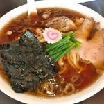 青島食堂 - 青島ラーメン大盛り(800円)