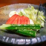 焼肉 大貫 - 生野菜