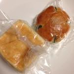 パン工房 たまいろは - 料理写真:花抹茶&サイコロぶどうぱん