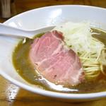 煮干中華ソバ イチカワ - 煮干しそば(醤油)