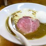 煮干中華ソバ イチカワ - 煮干しそば(塩)