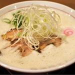 山なか製麺所 - 鶏白湯らーめん750円