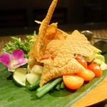 65154539 - インドネシア風温野菜サラダ「ガドガド」