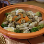 モロッコ料理 LA FETE - 料理写真:ラムタジン。鉄板のおいしさ。