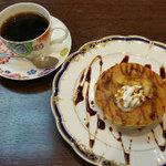 よこやま珈琲 - ホットケーキ・コーヒー付き