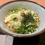 つるつる - 料理写真:冷ぶっかけ(*゚∀゚*)380円