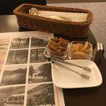 日光金谷ホテル - 百年カレーの付け合わせ(福神漬けと日光たまり漬けのたまりらっきょう)
