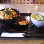 すず庵 - 料理写真:カツ丼セット